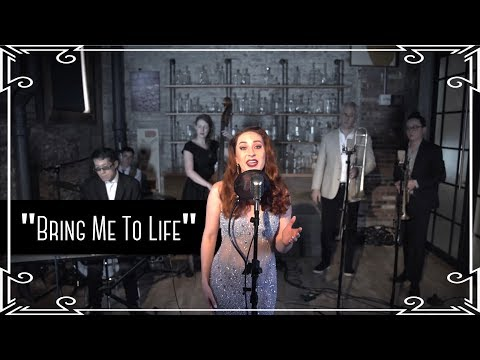 """Bring Me To Life"" (Evanescence) Big Band Swing Cover By Robyn Adele Anderson"