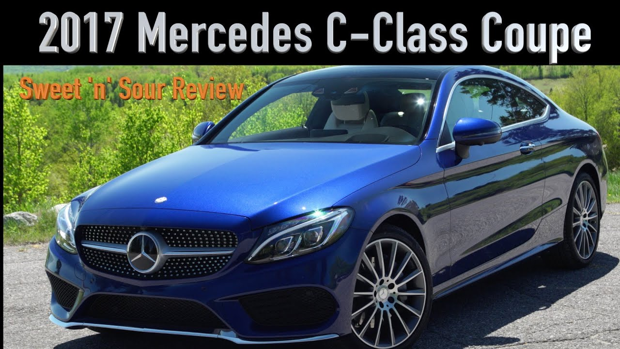 Mercedes c400 airmatic or not 2017 2018 best cars reviews - 2017 Mercedes Benz C Class Coupe Test Drive Sweet N Sour Review