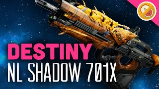 DESTINY NL Shadow 701x Scout Rifle Review (Year 2 The Taken King)