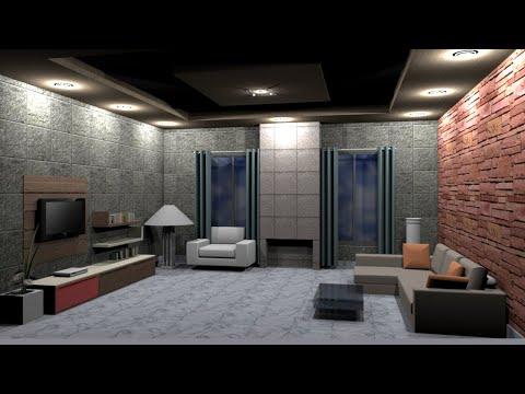 Interior Design Tutorial in Hindi using  Google Sketchup thumbnail
