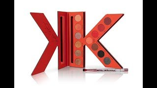 Ka'Oir Red KK Palette Preview-Get Hot for Date Night!