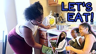 COOKING WITH NIQUE: MOTHER'S DAY DINNER + VLOG! ft. allofdestiny & De Sade!