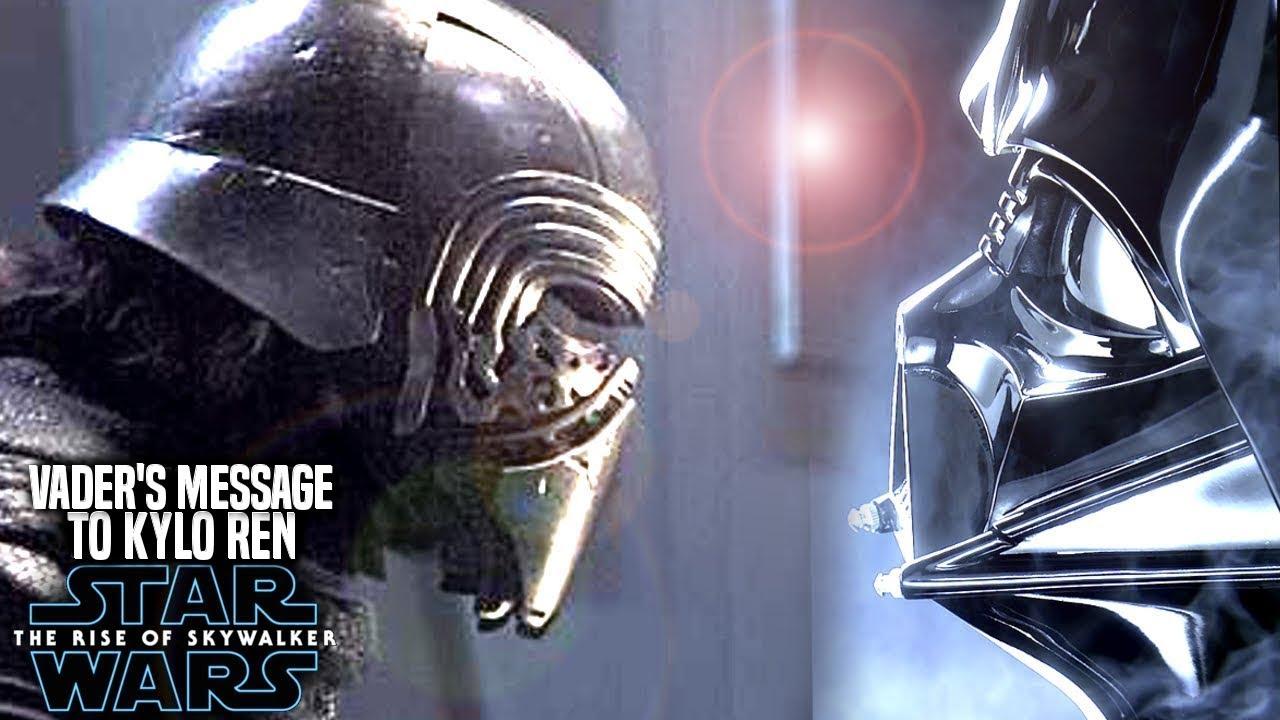 Darth Vader's Message To Kylo Ren Leaked! The Rise Of Skywalker (Star Wars  Episode 9)