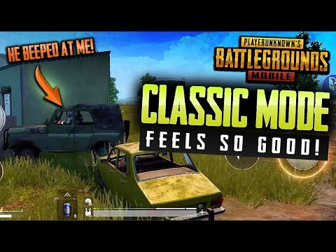 PUBG Mobile CLASSIC Mode - NEW Update Feels GREAT!