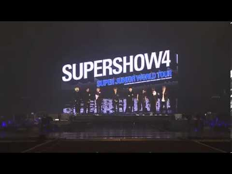 [Super Junior SS4 DVD] Talk Before You're My Endless Love