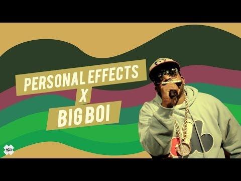 Personal Effects x Big Boi [KarmaloopTV]