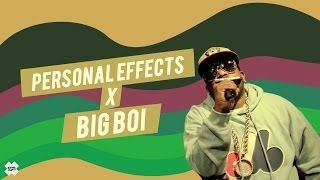 Personal Effects x Big Boi [KarmaloopTV]