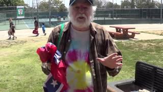 Honest John - Burning The Confederate Flag