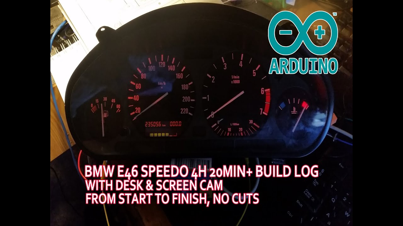 e36 instrument cluster wiring arduino code included. Black Bedroom Furniture Sets. Home Design Ideas