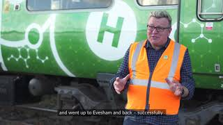 UK hydrogen train ventures out onto the main line