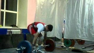 Витя Петров. Толчок 120 кг