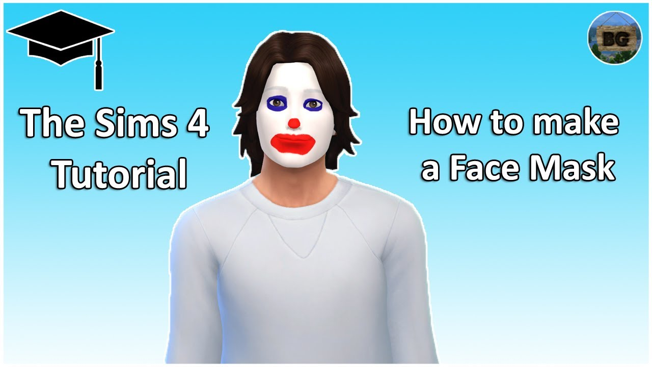 The Sims 4 Tutorial: How to make a Face Paint