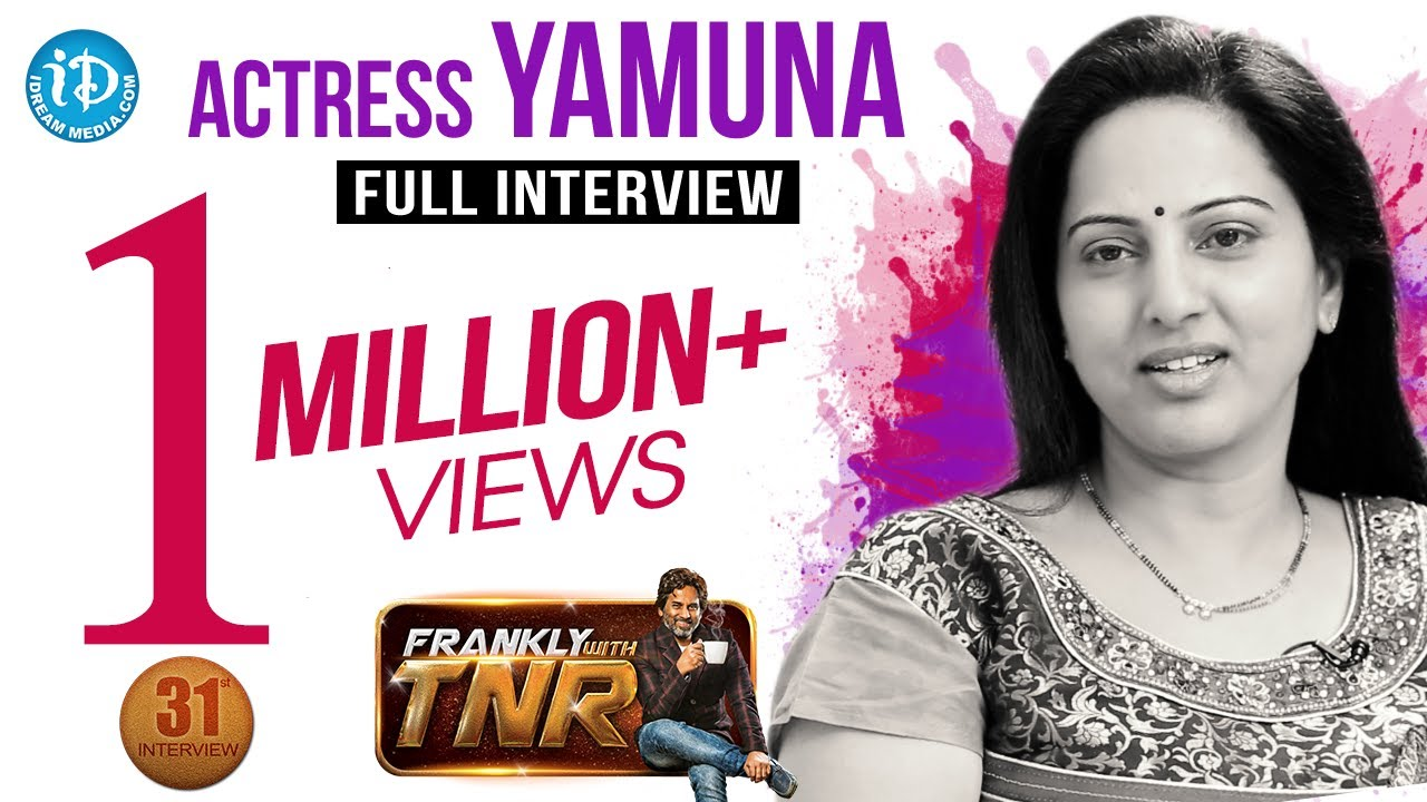 Download Actress Yamuna Exclusive Interview With English Subtitles || Frankly With TNR #31