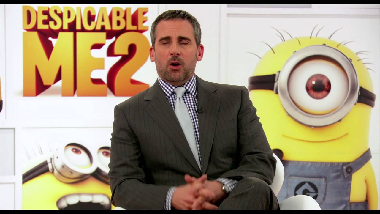 Behind The Scene Despicable Me 2 Steve Carell Explains 3d Animation
