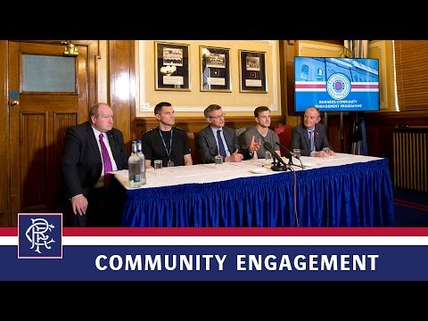 PRESS CONFERENCE   Community Engagement Launch   29 March 2017