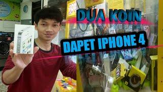 Gambar cover Main Capit Boneka| Dua Koin Depet Iphone 4 | Claw Machine | Vlog#6