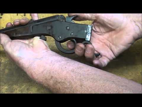 TUBALCAIN REPAIRS A STEVENS model 26 CRACK SHOT .22 caliber RIFLE