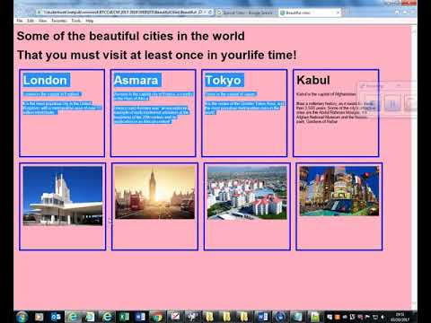 Lesson 1 Using HTML To Add Text And Pictures