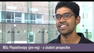 MSc Physiotherapy (pre-reg) - a student perspective