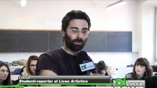 Studenti-reporter al Liceo Artistico - DiNews - 21 marzo 2012