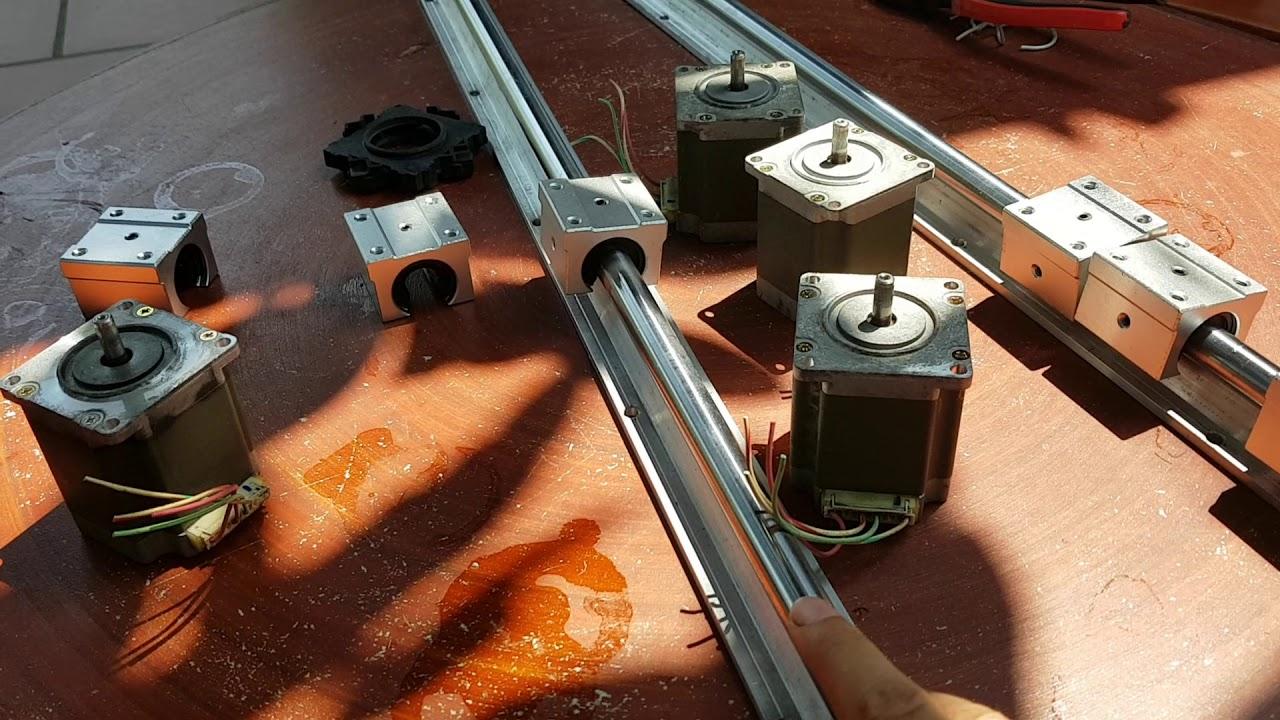 Linh kiện cơ khí cnc,động cơ bước,thanh trượt,con trượt zalo:0983956113