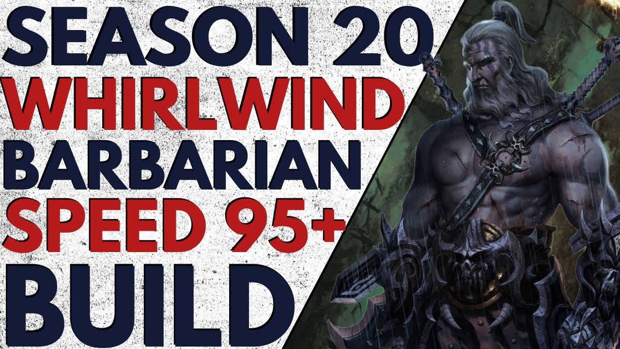 Diablo 3   Season 20   Wrath of the Wastes Whirlwind ...