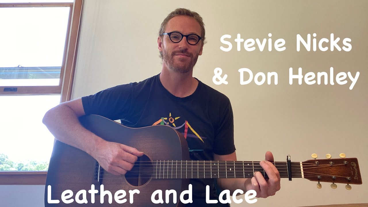Stevie Nicks & Don Henley   Leather and Lace Beginner Guitar Lesson