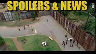 The Walking Dead Season 8 Filming Update News & Spoilers Back At Alexandria