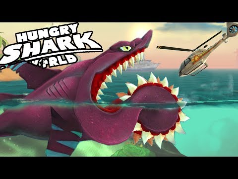 BUZZ - Helicoprion - NEW SHARK UNLOCKED || Hungry Shark World