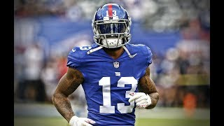 "Odell Beckham Jr Mic'd Up Compilation & Highlight ""HD"""