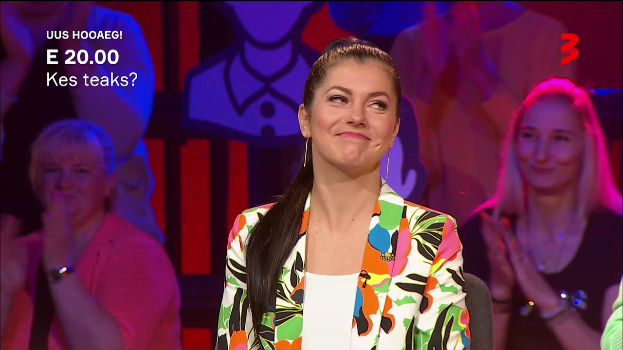 """Kes teaks?"" E 20.00 TV3s!"