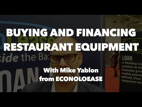 Buying And Financing Restaurant Equipment 2020