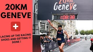 Racing the Geneva 20k - Warm Up for Valencia Marathon 2018!