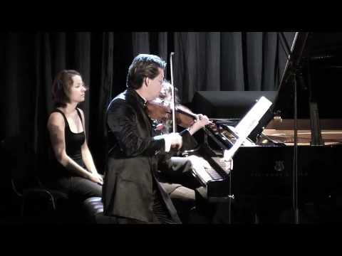Julian Rachlin plays Lera Auerbach Sonata for Violin and Piano No. 3 - Part 2