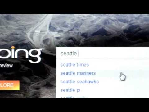 Bing: msn new search engine