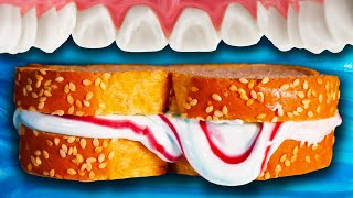 Brushing Your Teeth with a Toothpaste Sandwich