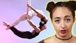 Women Train Like Cirque Du Soleil Performers