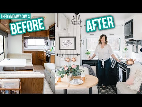 RV RENOVATION ON A BUDGET Step by Step!