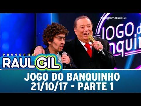 Jogo do Banquinho - Parte 1 | Programa Raul Gil (21/10/17)