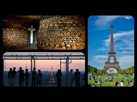 Paris Vlog / Day 3 / Eiffel Tower,Catacombs & Observatoire P