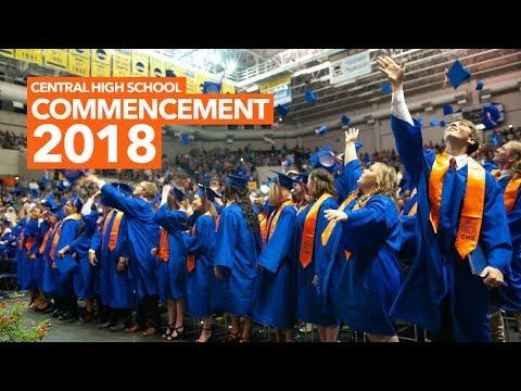 Central High School Graduation Ceremony 2018