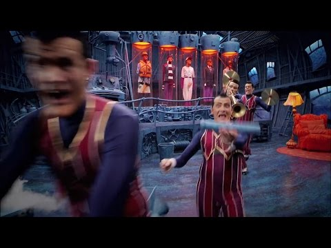 """We Are Number One plays four times and every """"one"""" speeds them up by 10%"""