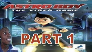 Astro Boy: The Video Game (PSP) Walkthrough Part 1 With Commentary