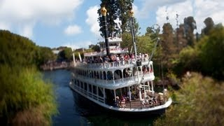 Disneyland, Mark Twain Riverboat Full HD Ride from the Pilot House POV