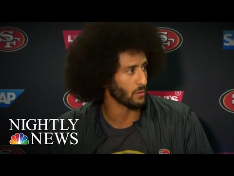 Nike Unveils New Commercial Featuring Colin Kaepernick Despite Controversy  NBC Nightly