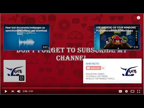 YouTube end screen - How To Add External Link, Channel Link & Other Video links On A YouTube Video