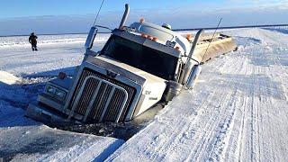 Most Dangerous Roads - Dangerous Trip - Crazy Driving Skills On Mountain Roads