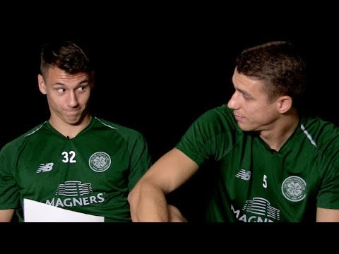 Celtic FC - Filip and Jozo go Glaswegian 🤣
