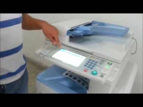 VIDEO TUTORIAL RICOH MP 2550 - MP 2851- MP 3350