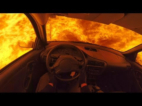 Chevy Cavalier ON FIRE!
